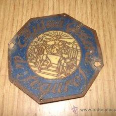 Carteles: CHAPA SEGUROS MUTUA GENERAL. Lote 23464527