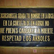 Plakate - CHAPA PUBLICITARIA. 1927. ECOLOGISTA. CONSEJO PROVINCIAL DE FOMENTO BARCELONA. - 25291693