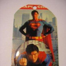 Carteles: SUPERMAN - CHAPA METALICA - FOTO PELICULA CHRISTOPHER REEVE -1978. Lote 26432453
