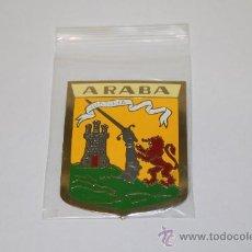 Carteles: CHAPA METALICA DE 5 X 7 DE ARABA, ALAVA, PAIS VASCO.. Lote 135060421