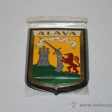 Carteles: PLACA PROVINCIA DE ALAVA, DE 5X7, METALICA.. Lote 135060698