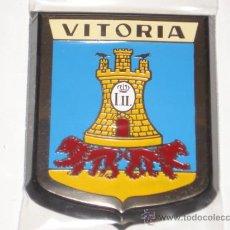 Carteles: CHAPA DE VITORIA DE 5 X 7, CON MARCO.. Lote 176867830