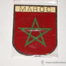 Carteles: CHAPA DE MAROC, MARROC, MARRUECOS. DE 5 X 7. Lote 115139783