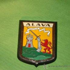 Carteles: CHAPA DE ALAVA, DE 6 X 8, METALICA. COCHE, MOTO.. Lote 135060621