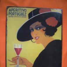 Affiches: CHAPA RACSOR OPORTO VINO APERITÍVO. Lote 29046212