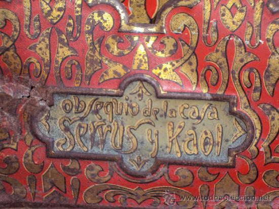 Carteles: (CAR-17)CARTEL PUBLICITARIO DE CHAPA OBSEQUIO DE LA CASA SERVUS Y KAOL - Foto 4 - 30517418
