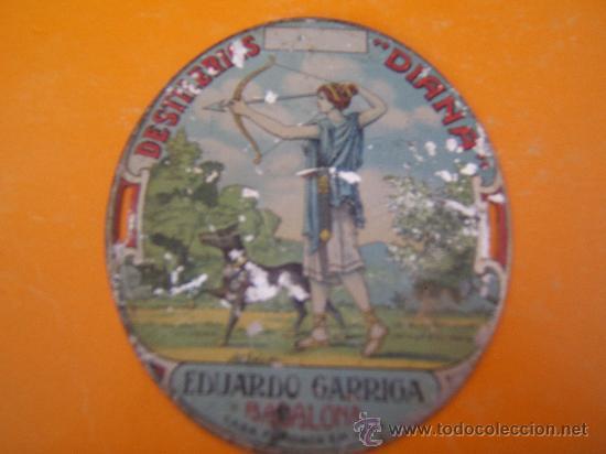 CHAPA LITOGRAFIADA (Coleccionismo - Carteles y Chapas Esmaltadas y Litografiadas)