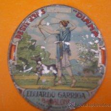 Carteles: CHAPA LITOGRAFIADA. Lote 31583867