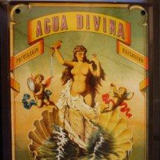 Plakate - PUBLICIDAD HOJAALATA 13X18. AGUA DIVINA. - 33635010