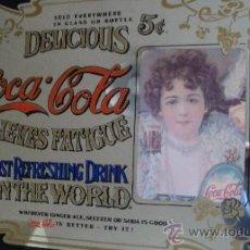 Carteles: CARTEL ANTIGUO DE COCA COLA AÑOS 50'S - 60'S APROX. ORIGINAL. Lote 34214818