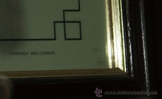Carteles: precioso espejo cartel publicitario de ballantines - Foto 2 - 34897828
