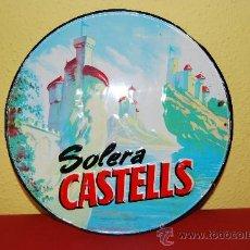 CHAPA LITOGRAFIADA - PUBLICIDAD SOLERA CASTELLS - G. DE ANDREIS, BADALONA 1961