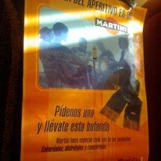 Carteles: CARTEL PUBLICITARIO DE MARTINI DE 100 X 68 CMS. Lote 37842917