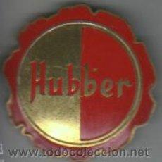Carteles: CHAPA O PLACA AGUJA PUBLICIDAD DERMO HUBBER - POMADA - FARMACIA- MÉDICO. Lote 37863788