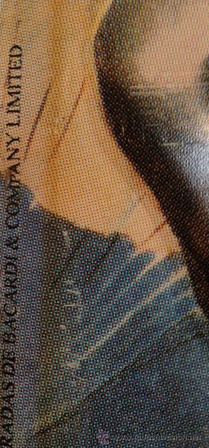 Carteles: CHAPA DE PUBLICIDAD RON BACARDI. 50X33CM, - Foto 2 - 38780478