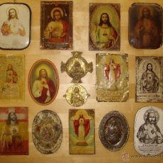 Carteles - Colección de 15 antiguas chapas de puerta principios del XX. - 40071302