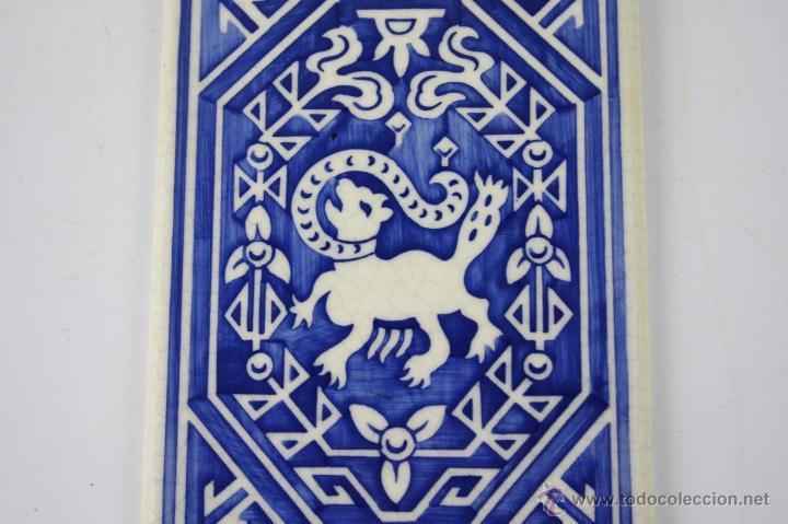 Carteles: LOZA ESMALTADA ROIG Y GUASCH S. EN C. BARCELONA - ESTAMPACIÓN RECLAMOS J. VILARO - PRINC. S.XX - Foto 3 - 40612136