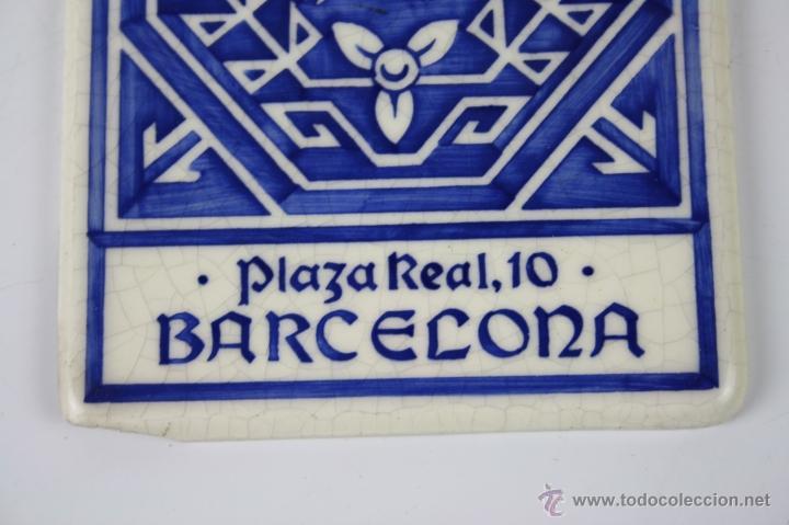 Carteles: LOZA ESMALTADA ROIG Y GUASCH S. EN C. BARCELONA - ESTAMPACIÓN RECLAMOS J. VILARO - PRINC. S.XX - Foto 4 - 40612136