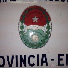 Posters - Chapa esmaltada Servicio público - 41681749
