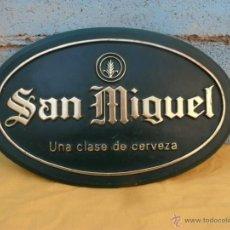Carteles: CARTEL PUBLICIDAD CERVEZA SAN MIGUEL. Lote 42262630
