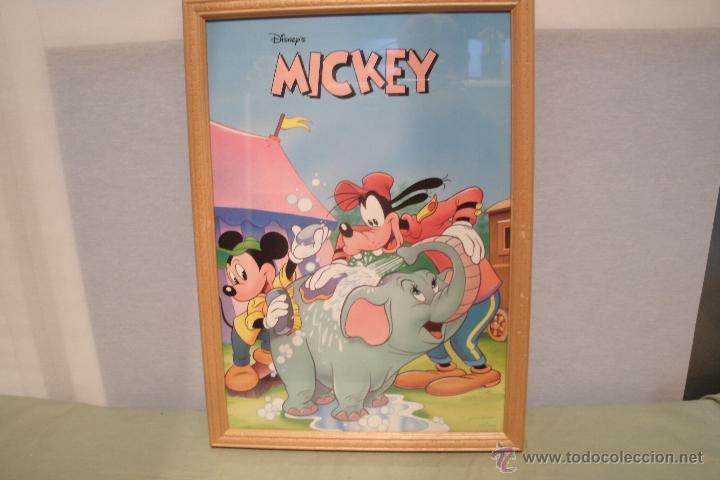 cuadro vintage gran tamaño de mickey mouse y go - Comprar Carteles ...