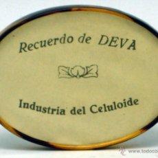 Carteles: ESPEJO PUBLICIDAD RECUERDO DE DEVA INDUSTRIA DEL CELULOIDE AÑOS 30. Lote 42666570