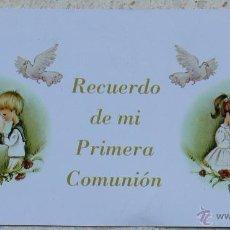 Carteles: LITOGRAFÍA PARA LAPICERO. RECUERDO DE LA PRIMERA COMUNIÓN. Lote 43088663