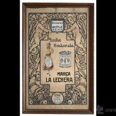 Carteles: ESPEJO LA LECHERA AÑOS 60/70. Lote 43930545