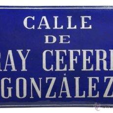 Carteles - Chapa esmaltada calle Madrid - 43930702