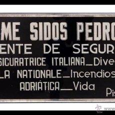 Carteles: VIDRIO PINTADO JAIME SIDOS. Lote 43931947