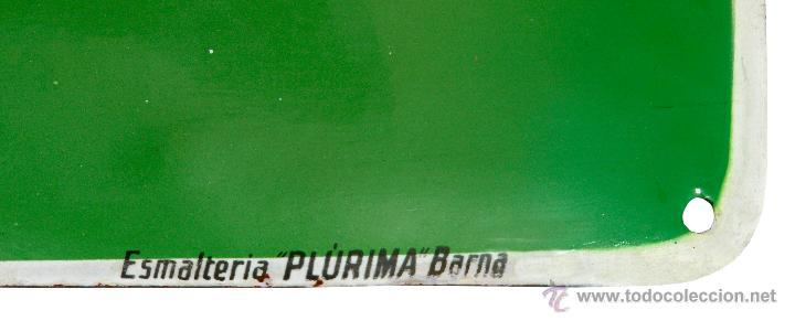 Carteles: chapa esmaltada -Winterhur Accidentes- Plúrima, Barcelona - Foto 2 - 43989422