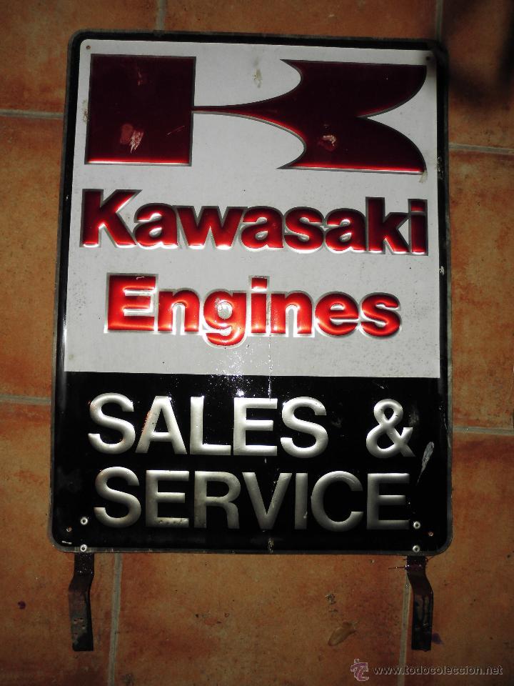 sensacional chapa kawasaki servicio engines sal buy old posters Old Kawasaki 4 Wheelers sensacional chapa kawasaki servicio engines sales y service