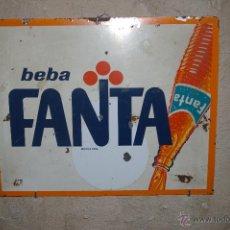 Carteles: CHAPA FANTA 40 X 32 CM.. Lote 46544028