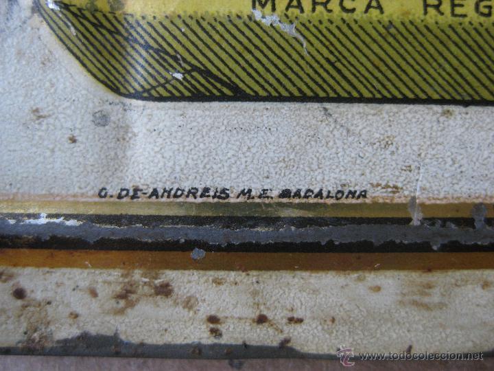 Carteles: GASEOSAS ARMISEN - RARISIMA CHAPA EN RELIEVE - G. DE ANDREIS BADALONA - Foto 4 - 47103082