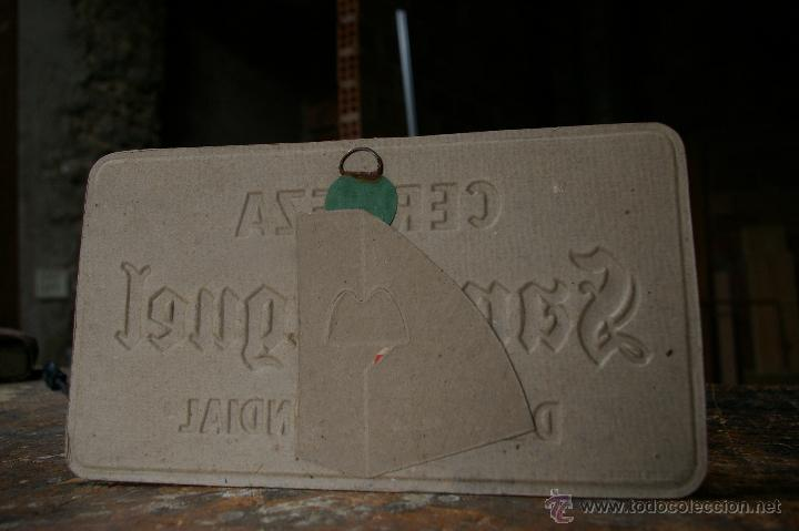 Carteles: CArtel - display de cartón, dimensiones 24 x 13.50 cm., años 50 - Foto 3 - 48559284