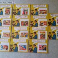 Carteles: COLECCIÓN DE 14 IMANES FLEXIBLES VINTAGE. TEMÁTICA TEBEOS DÉCADA DE LOS 50. Lote 48741376