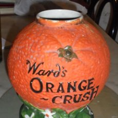 Carteles: (M) ORANGE - CRUSH - WARD'S - ANTIGUO DISPLAY PORCELA PUBLICITARIO 26X24 - ORIGINAL DE LA EPOCA . Lote 49667369