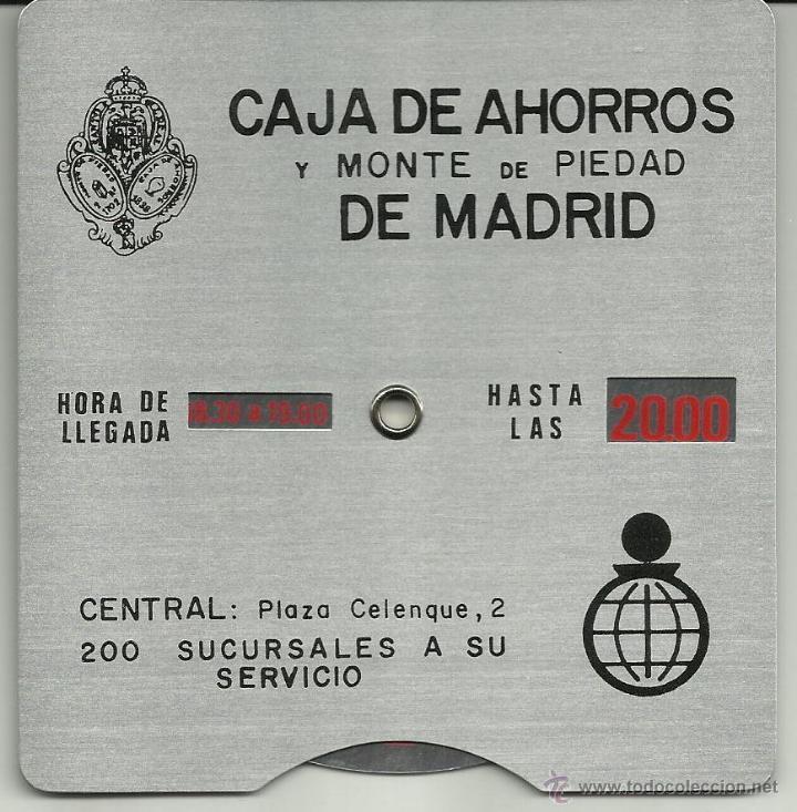 Horario De Chapa Antigua Caja De Ahorros Y Mo Sold Through