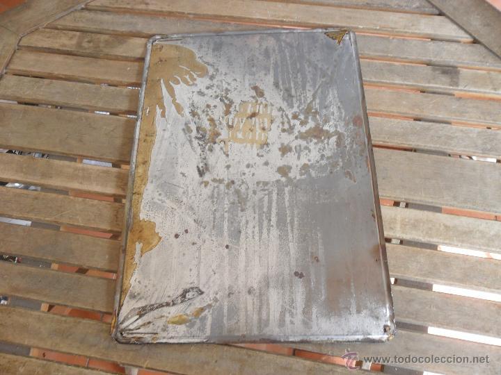 Carteles: CHAPA LOTOGRAFIADA EN METAL PUBLICIDAD TONICA REFRESCOS SCHWEPPES MIDE 49.5 X 34.5 CM - Foto 6 - 50185277