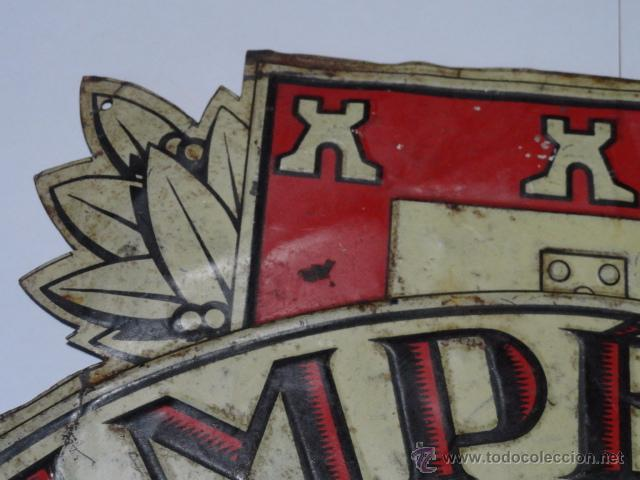 Carteles: PLACA DE SEGUROS IMPERIO ( INTRERNACIONAL LISBOA) - Foto 2 - 53663454