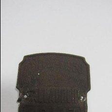 Carteles: CHAPA. ARBITRIO SOBRE RODAJE. DIPUTACION PROVINCIAL DE VALLADOLID. AÑO 1958. Lote 55918691