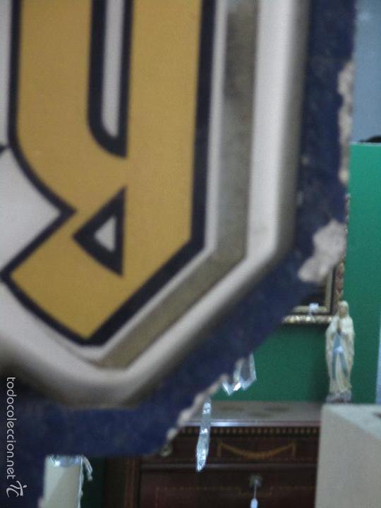 Carteles: Gran Cartel Publicitario antiguo -Cerveza Kronenbourg -cartel luminoso neon -tipo bandera -dos caras - Foto 23 - 56464391