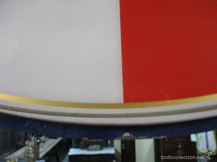 Carteles: Gran Cartel Publicitario antiguo -Cerveza Kronenbourg -cartel luminoso neon -tipo bandera -dos caras - Foto 27 - 56464391
