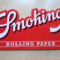 Carteles: CARTEL PUBLICIDAD SMOKING ORIGINAL VINTAGE. Lote 58097989