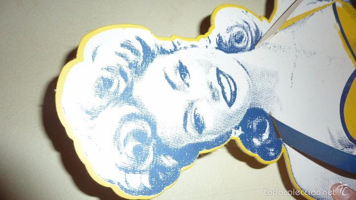 Carteles: bonito expositor cartel publicidad tabaco camel carton duro pin up 100 aniversario 40 / 30 / 10 cm - Foto 4 - 58542369