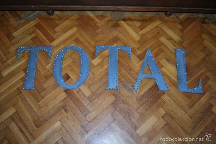 Carteles: LETRAS DE METACRILATO - CARTEL - LETRERO - TOTAL - AÑOS 90 - Foto 3 - 110178072