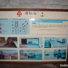 Carteles: CARTEL AUTOESCUELA, FIRMADO POR SANZ. Lote 64871907