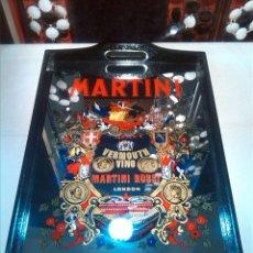 Carteles: BANDEJA ESPEJO PUBLICIDAD MARTINI. Lote 65688506