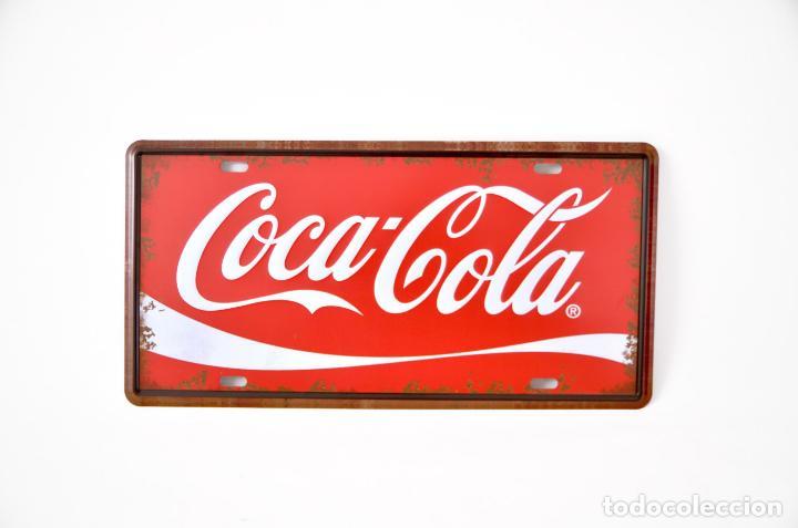 Chapa de metal cocacola estilo antiguo vintage comprar - Chapa coca cola pared ...