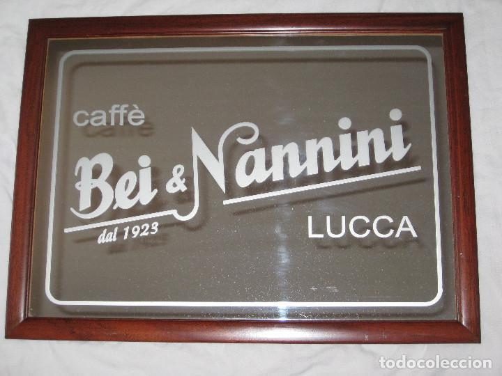 Carteles: Cuadro espejo Café Bei & Nannini - Foto 3 - 68228789